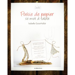 Poésie de papier, se met à table