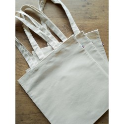 Sac tote bag made in France, coton bio
